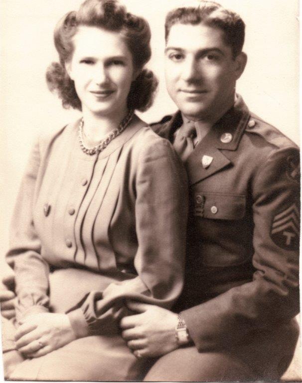 Gotardo and Regena Benvenuti in CT in 1950