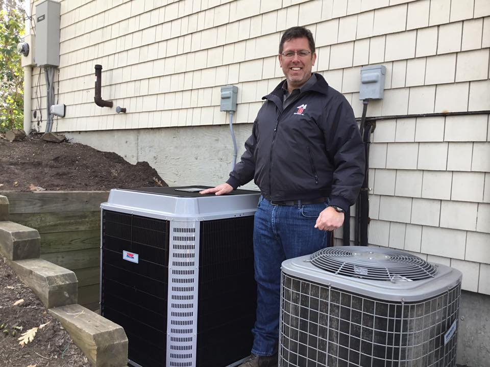 Central A/C System Installed by Benvenuti Oil in CT