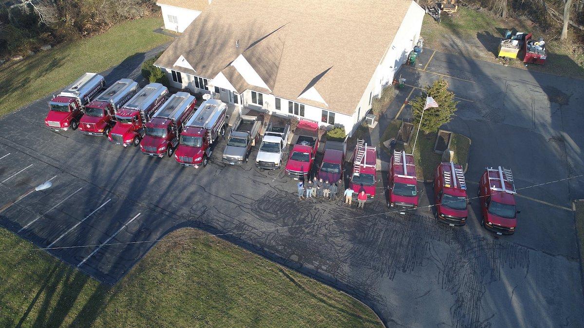 benvenuti fleet and office in Waterford, CT