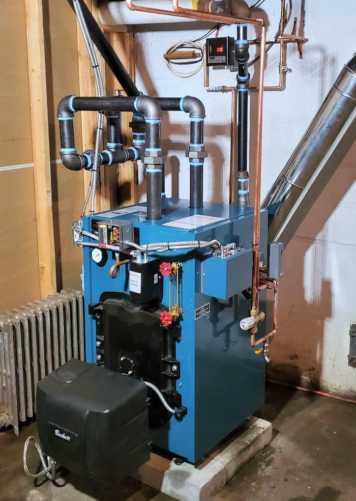 Heating Install in CT by Benvenuti Oil Company