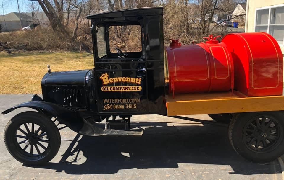 Classic Oil Truck from Benvenuti Oil Company in CT