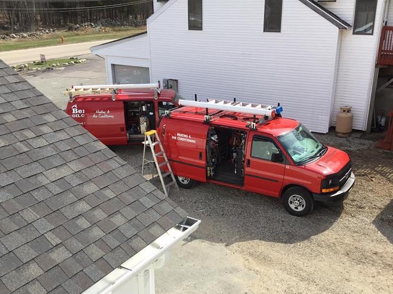 HVAC Service Job in CT by Benvenuti Oil Company