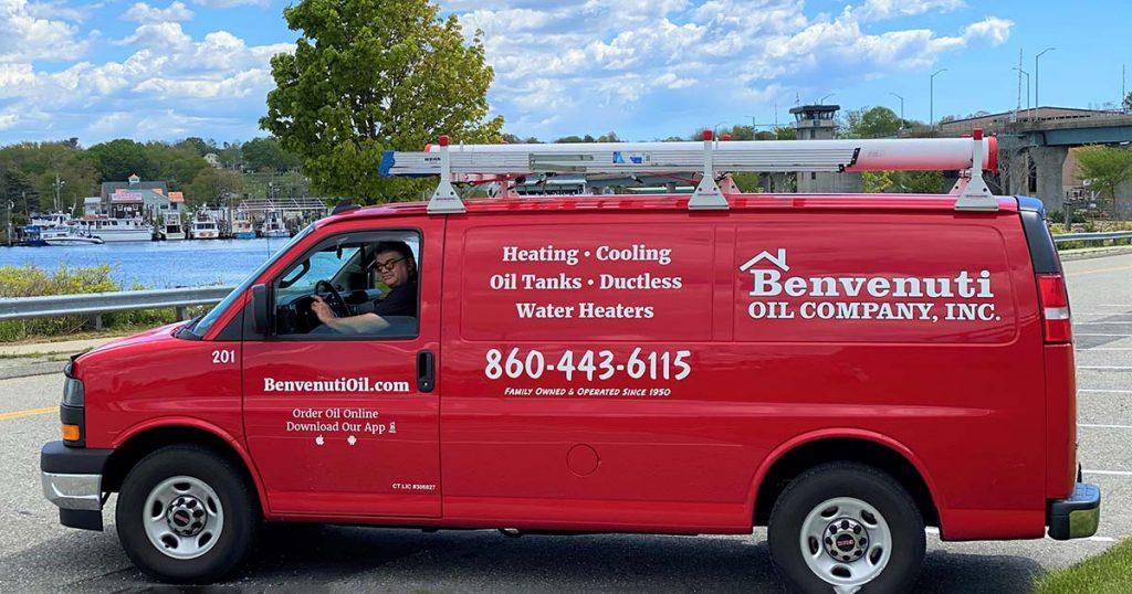 Benvenuti Oil Van in Waterford, CT